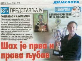 Kresovic erneut bester Gastarbeiter in Europa