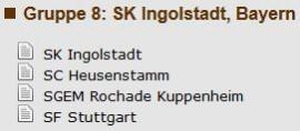 Rochade Außenseiter im deutschen Pokal