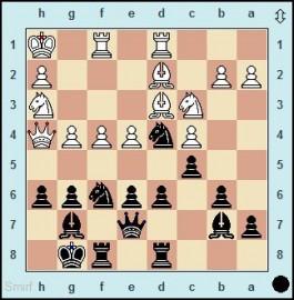Schach während des Bombenhagels