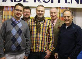 Fünf Präsidenten huldigen Gantner