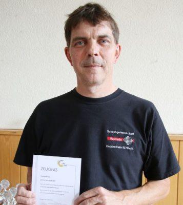 C-Trainerschein für Thomas Braun