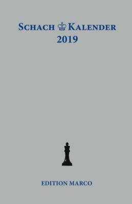 """Edler"" Schachkalender 2019"