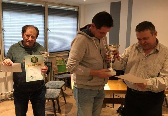 Jan Prok Dritter bei mittelbadischer Meisterschaft