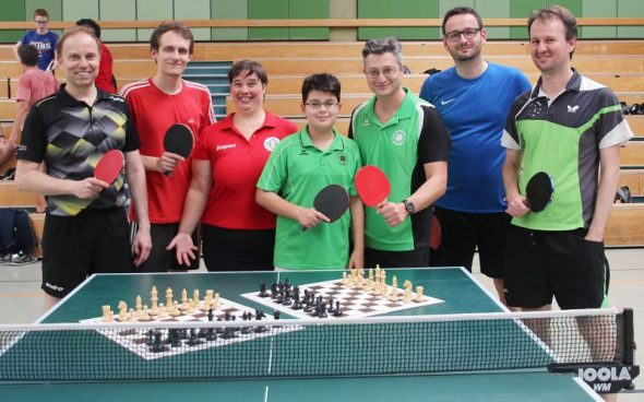 """Schach-Tischtennis in der """"Welt am Sonntag"""""""