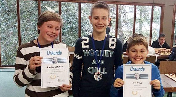 Patrick Gottwald U16-Vizemeister