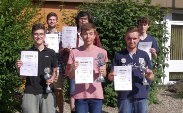 Erfolge bei der Badischen Jugendeinzelmeisterschaft in Neumühl